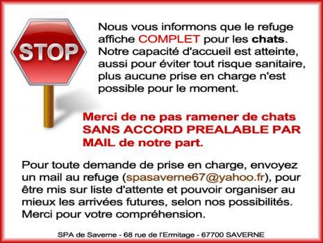 Stop refuge complet